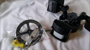 Outdoor Lights With Motion Sensor by Sansi Led Security Motion Sensor Outdoor Lights Unboxing Youtube