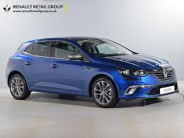 new renault megane nearly new renault for sale megane dci gt line blue cardiff