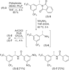 modified kagan u0027s amide synthesis and application as a chiral