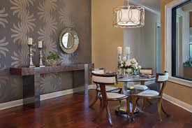 Table Round Glass Dining With Wooden Base Breakfast Nook by Furniture Vanguard Furniture In Cool Transitional Kitchen Design