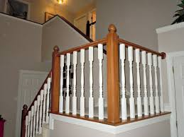 Replacing Banister Spindles Updating A Painted Banister With Gel Stain