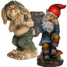 troll gnome statues garden gnomes and troll