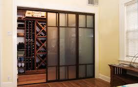 Interior Doors For Small Spaces Sliding Interior Glass Doors Sorrentos Bistro Home