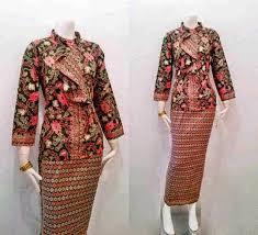 gambar model baju batik modern model baju kondangan batik yang fresh dan koleksi gambar model baju