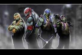 names teenage mutant ninja turtles