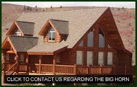 large log cabin floor plans big horn log cabin floor plans