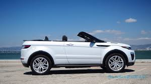 land rover small range rover evoque convertible review droptop suv an acquired