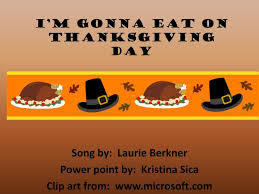 ppt i m gonna eat on thanksgiving day powerpoint presentation