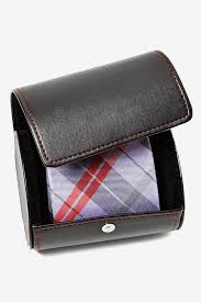 tie box gift leatherette gift roll tie storage ties