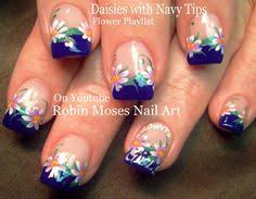 diy silver and gold flower nails beautiful mint nail art design