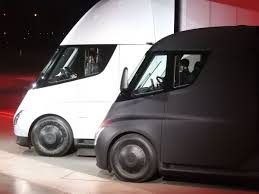 tesla inside roof first look elon musk unveils the tesla semi truck