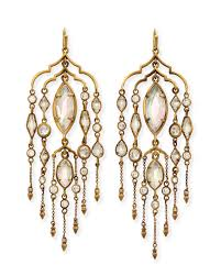 Brass Chandelier Emma Brass Chandelier Duster Earrings Kendra Scott
