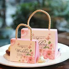gift bags for wedding 10pcs lot wedding candy box kraft gift box bag