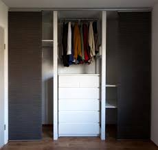 Ikea Kvartal Panel Curtains Unconventional Diy Closet Using 2x3 Boards Primer Paint And