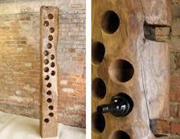 wine racks relaimed oak wine racks products the fallen tree