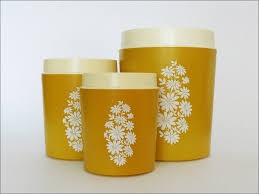 yellow kitchen canisters kitchen gold canister sets tea canisters grey canisters metal