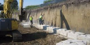 Large Retaining Wall Blocks ReCon Wall Systems - Concrete retaining walls design