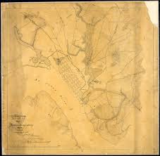Map Of Jacksonville Florida by File Map Of Jacksonville And Vicinity Florida Showing Defenses