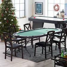 Poker Dining Room Table American Heritage Poker Table Hayneedle