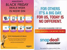 amazon black friday deals flyer snapdeal vs amazon