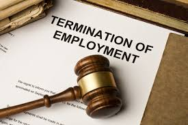 what is mean by cover letter terminated from employment definition
