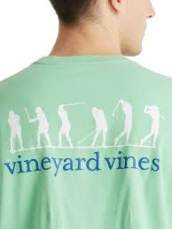 vineyard vines s golf swing graphic pocket t shirt thrill on