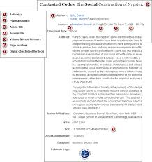 apa format online article no author journal article with doi apa style 6th edition libguides at bow