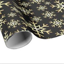 black christmas wrapping paper black and gold christmas wrapping paper zazzle