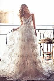wedding dress garden party 2016 lace wedding dress spaghetti backless wedding gowns