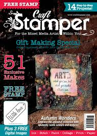 craft stamper magazine jaine drake basement studio