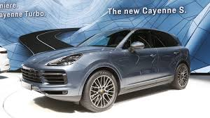 porsche suv price most expensive 2019 porsche cayenne turbo costs 166 310