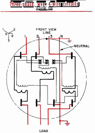phase meter base wiring diagram with schematic pics 3 diagrams