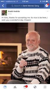 the meme itself has become self aware on dank memes gang fb page