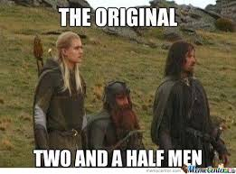 Meme With Two Pictures - the original two and a half men yes by siwax meme center