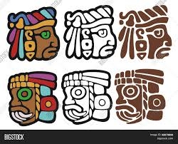 mayan ornaments vector photo bigstock
