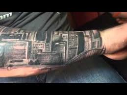 pittsburgh skyline tattoo youtube