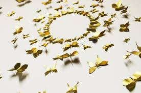 wall butterflies decor shenra com handmade wall hangings ideas the suitable home design