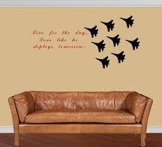 Vinyl Wall Stickers Custom Custom Quote Air Force Decal Fighter Jets Cute Quotes