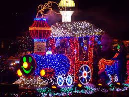 christmas light parade floats choo choo train parade float ideas built by demers masonry parade