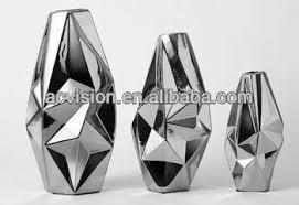 Silver Vase Modern Chrome Silver Vase Ceramic Ceramic Silver Vase Buy Modern