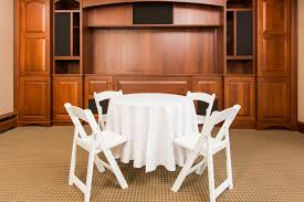Round Tables For Rent by Tables Colorado Event Rentals
