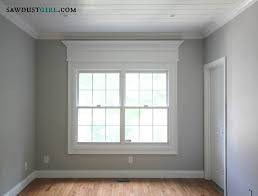 Door and Window Trim Molding with a Decorative Header Sawdust Girl