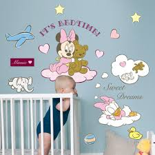 minnie mickey mouse disney wall stickers pink for baby rooms minnie mickey mouse disney wall stickers pink for baby rooms wallstickers disney