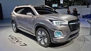 subaru viziv interior subaru viziv 7 suv concept los angeles auto show 2016 interior