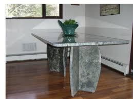 Dining Room Design Ideas Photos And Inspiration - Granite kitchen table
