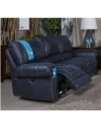 Gray Leather Reclining Sofa Here S A Great Price On Milhaven Faux Leather Reclining