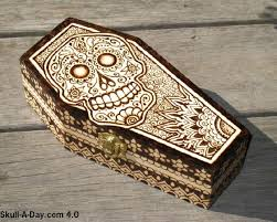Free Woodworking Plans Projects Patterns Pyrography Wood Burning by This Is Pyrography Wood Burning On A Wooden Box It Was Inspired