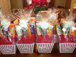 popcorn gift baskets gift baskets each contains a 10 theatre gift card 4