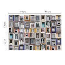 walplus lisbon windows wall mural stickers wallpaper wall windows wall mural stickers wallpaper zoom