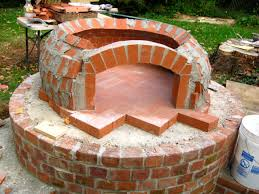 outdoor fireplace with pizza oven binhminh decoration